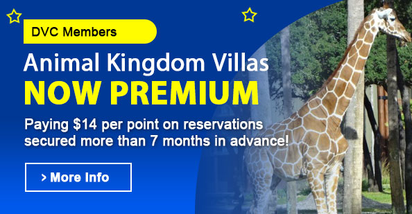 Animal Kingdom Premium Points