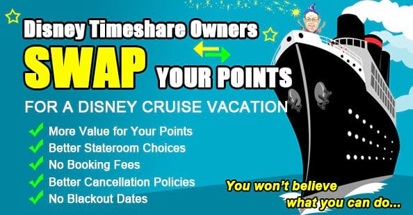 DVC Members Swap Points for Cruise