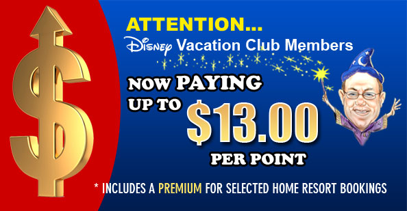 DVC Members Now Paying $13 Per Point