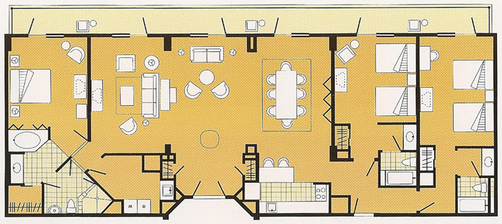 alfa img showing gt 3 bedroom grand villa disney 3 bedroom villas disney world trend home design and decor
