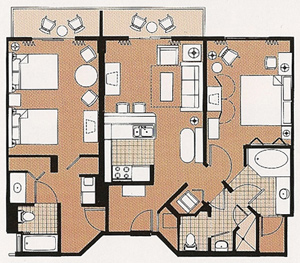 Watch likewise Disney Bay Lake Tower One Bedroom Villa Floor Plan likewise Sleeping Space Options And Bed Types At Walt Disney World Resort Hotels besides Disney World Hotels Guide in addition The Disney Vacation Club Dvc Resorts At Walt Disney World. on disney saratoga springs 1 bedroom villa floor plan