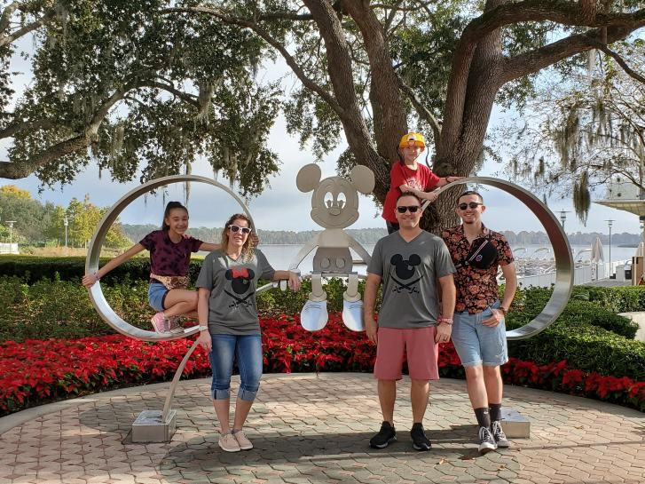 Guest Photo from Tony: Guests at Bay Lake Tower