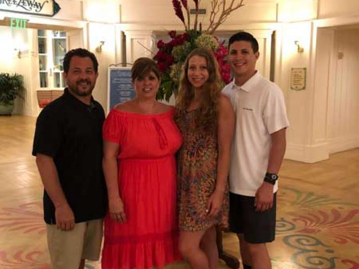 Guest Photo from Kim Castiglione: Guests in the lobby of Beach Club villas