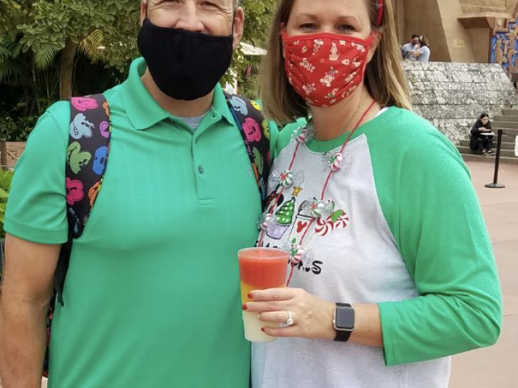 Guest Photo from Amy DiGiacomo: guest at Mexico pavilion at Epcot