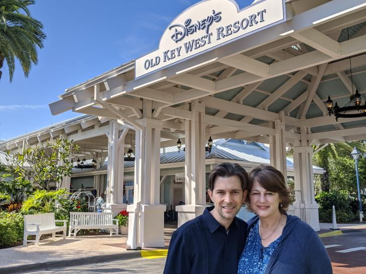 Guest Photo from Susan Easterday: Guests outside Old Key West